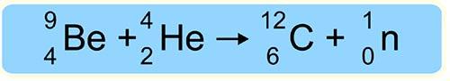 реакция открытия нейтрона