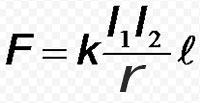 формула закона ампера
