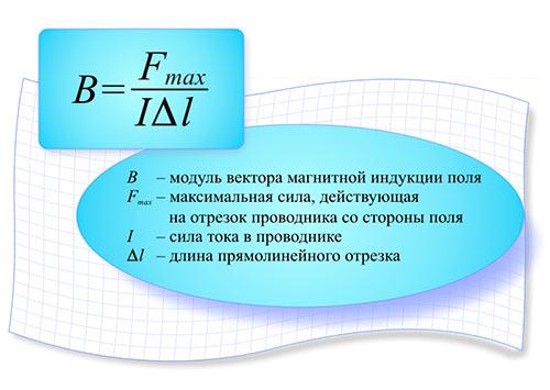 вектор магнитной индукции