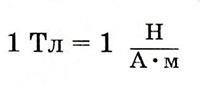 единица магнитной индукции